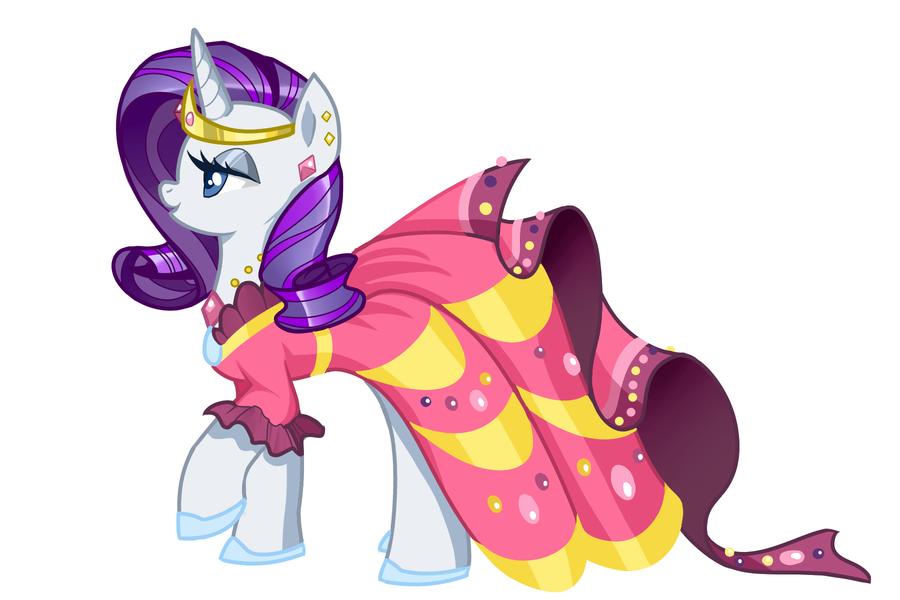Rarity in her lovely gala dress | My Little Pony ...