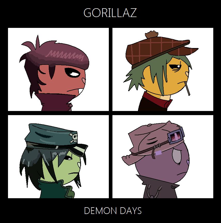 Murdoc Gorillaz Demon Days HTFGorillaz | Gorillaz...