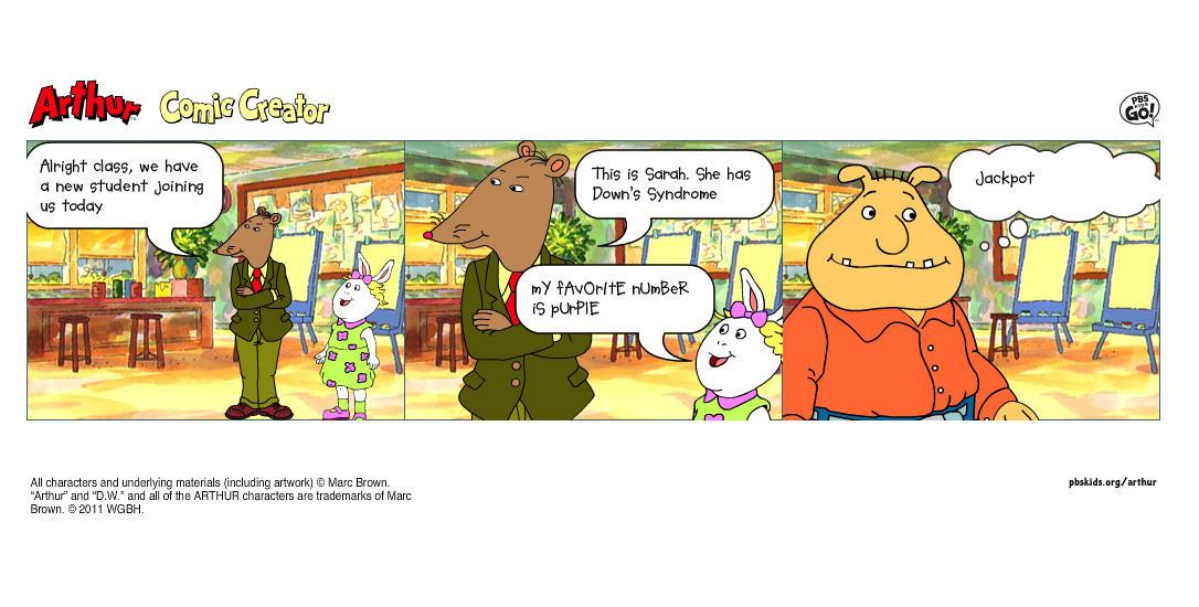 Crossovers | Arthur Comic Creator | Know Your Meme