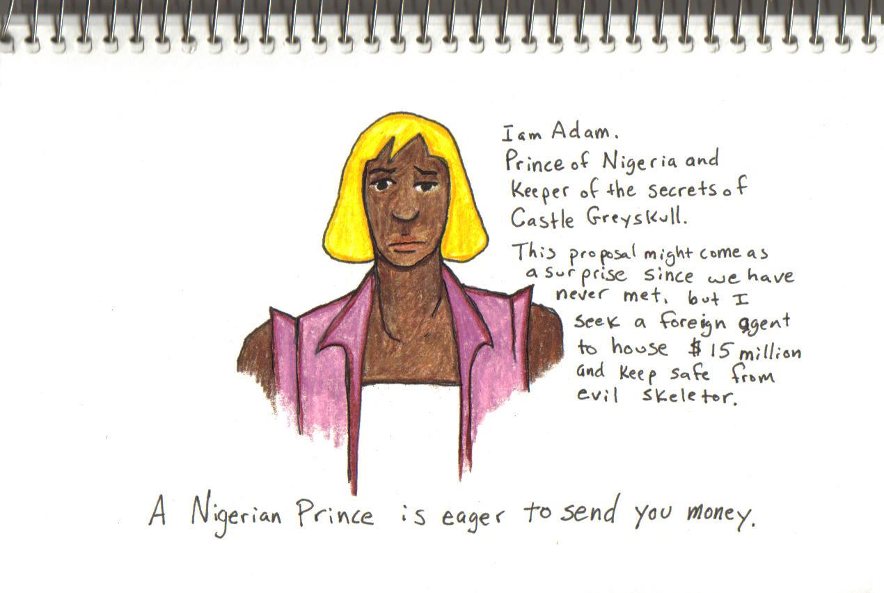 [Image - 510834]   Nigerian Scams   Know Your Meme  Craigslist Nigerian Scam Meme