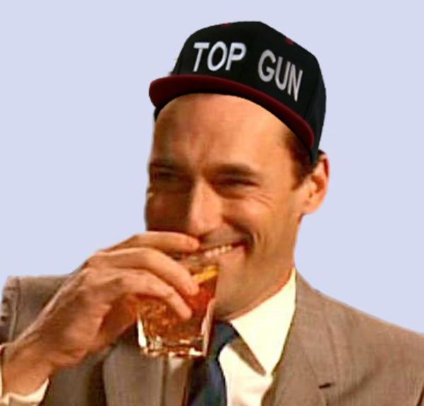 Image 582258 top gun hat know your meme for Top gun hat template