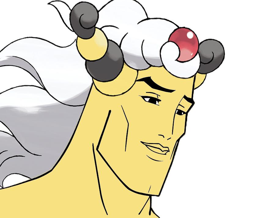 Handsome Mega Ampharos | Handsome Face | Know Your Meme