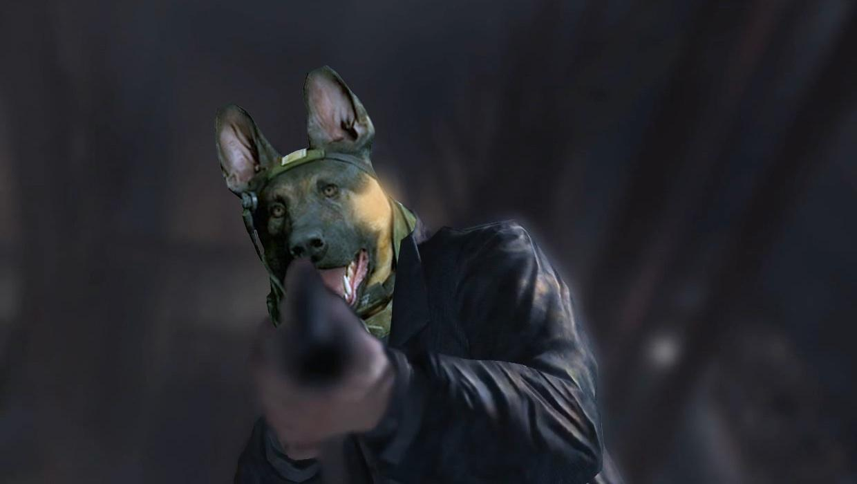 man dog call of duty dog know your meme