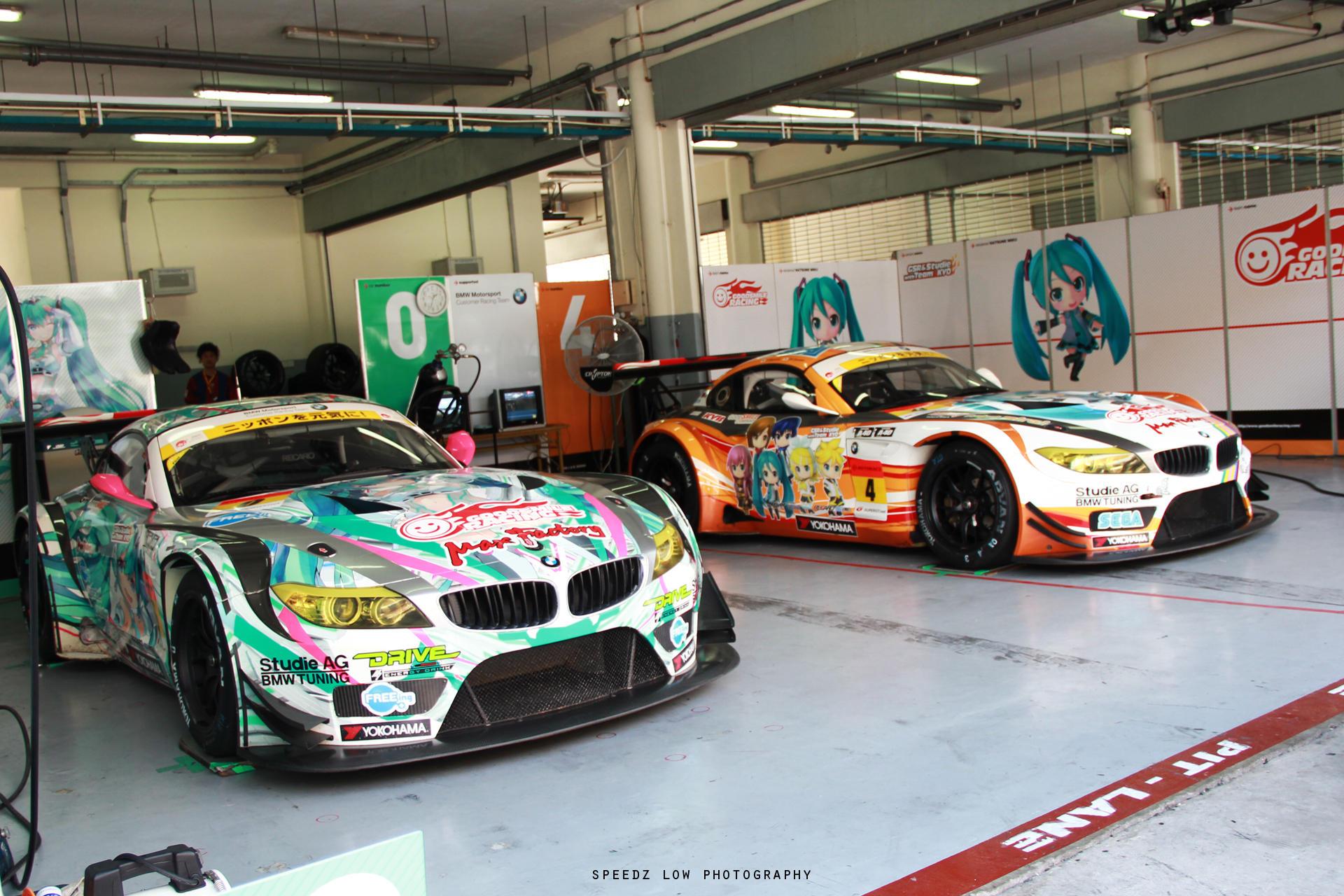 Good Smile Racing With Team Ukyo Garage Itasha Know