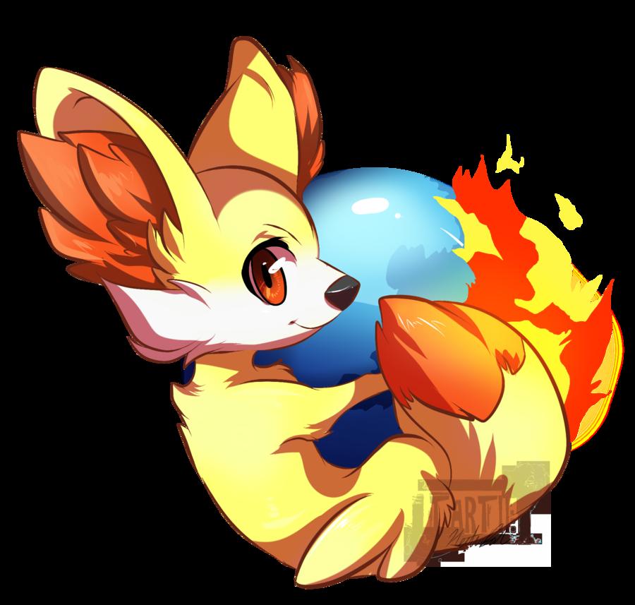firefox fennekin edition pokemon know your meme