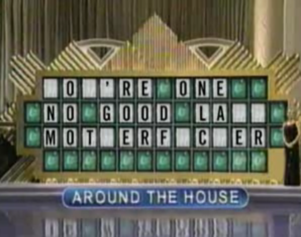 Wheel of fail wheel of fortune puzzle board parodies for Wheel of fortune board template