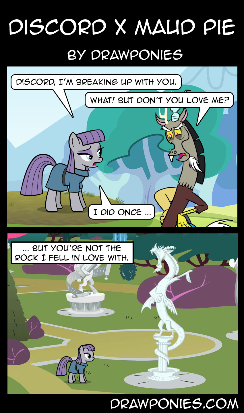 Discord x Maud Pie | My Little Pony: Friendship is Magic ...