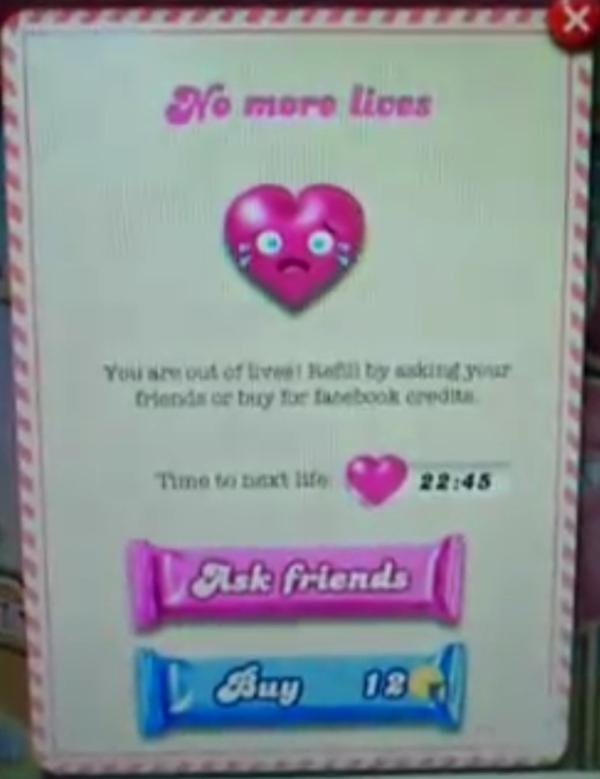 how to send lives on candy crush