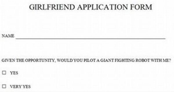 Markiplier Girlfriend Application Image - 760477] check yes or no know ...