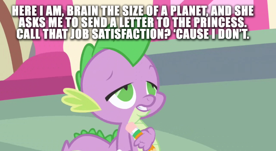 spike the paranoid dragon my little pony friendship is