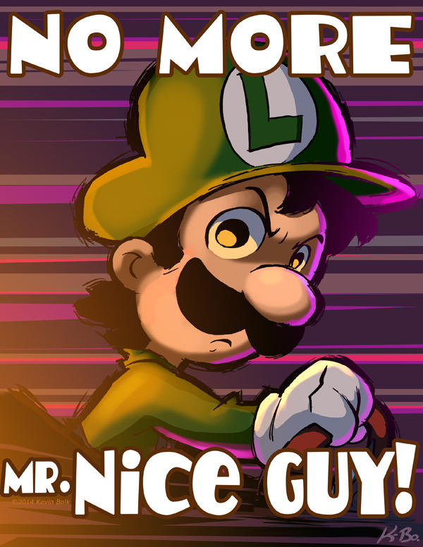 By Kevin Bolk Luigi S Death Stare Know Your Meme
