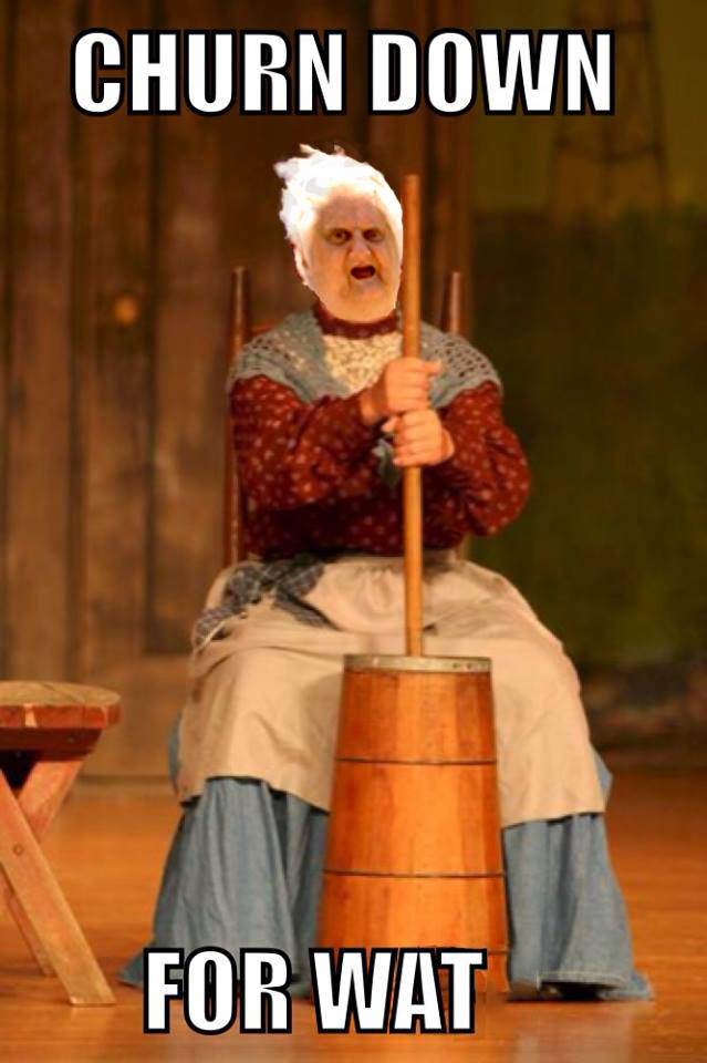 You Funny Lady Meme : Churn down for wat know your meme