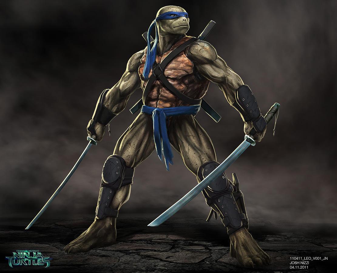 Teenage mutant ninja turtles concept art 2018