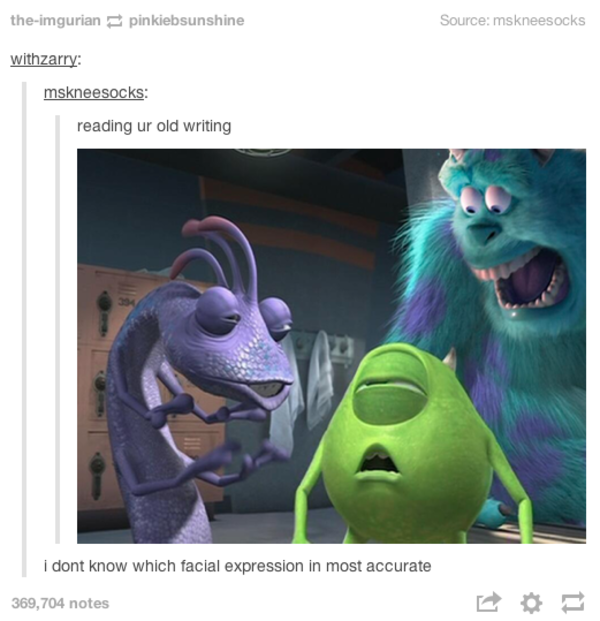 Image 858220 tumblr know your meme for Monsters inc bathroom scene