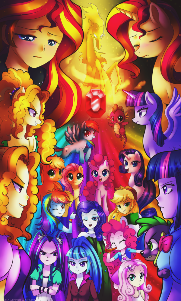 Magic Of The Sirens My Little Pony Friendship Is Magic