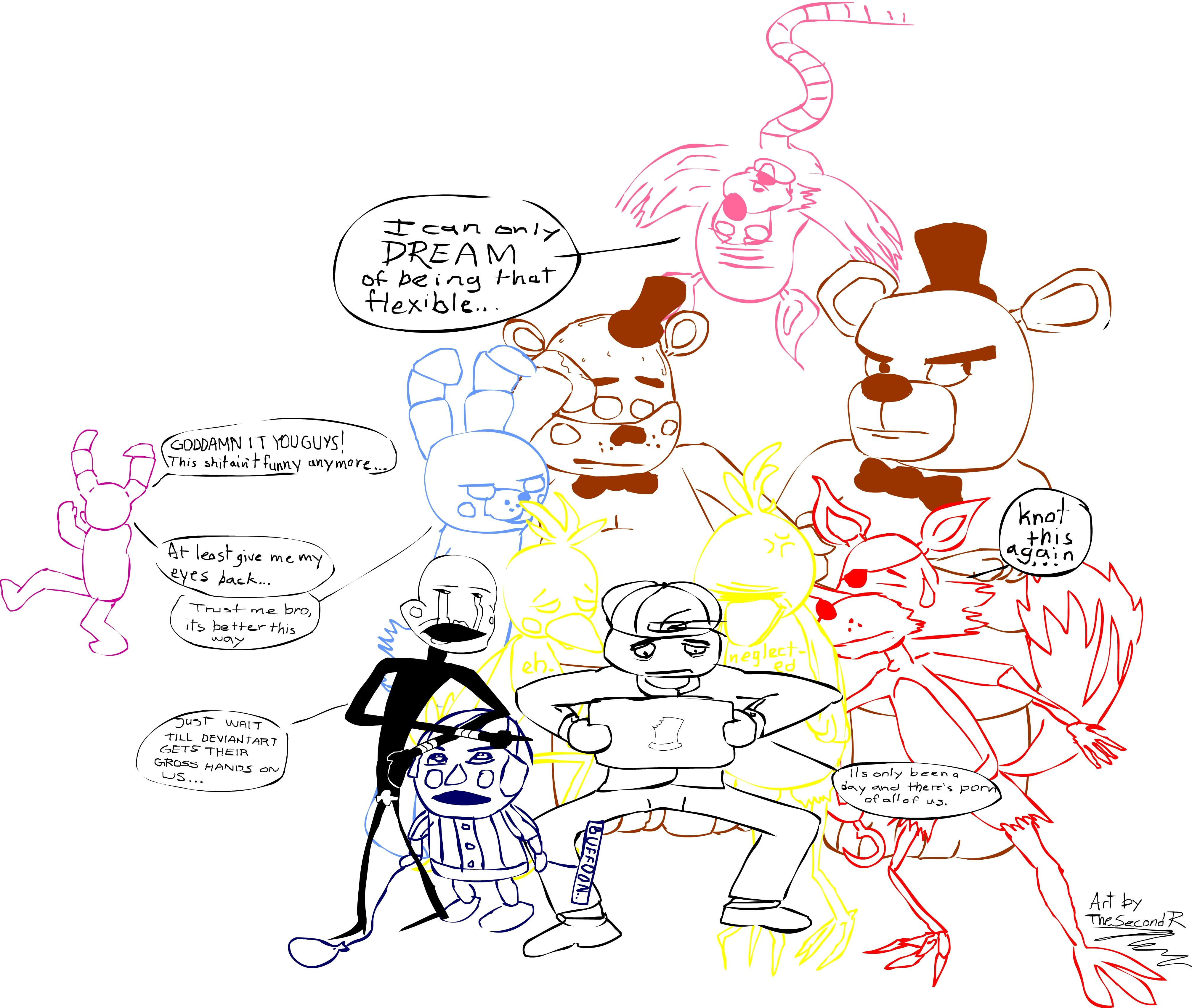 34 nights at freddy s five nights at freddy s know your meme