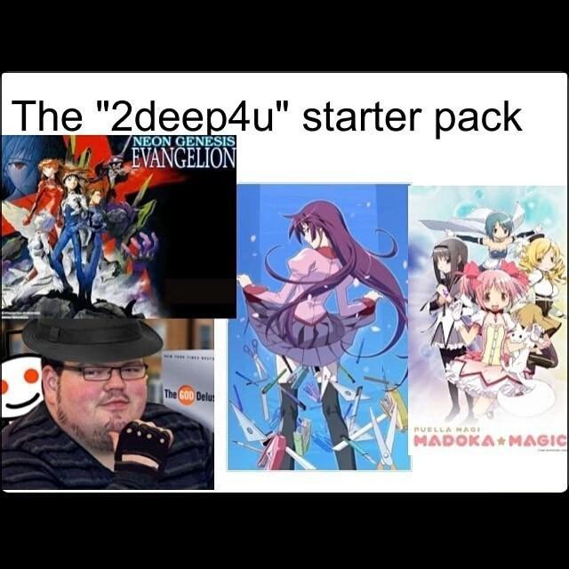 2deep4u Starter Packs Know Your Meme