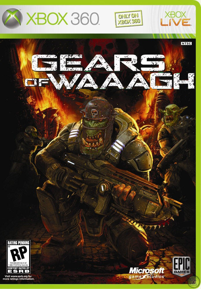 gears of waaagh warhammer 40000 know your meme