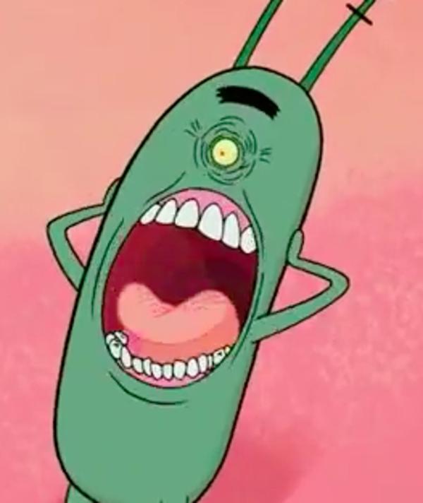 Spongebob Funny Face Meme : Plankton s face spongebob squarepants know your meme
