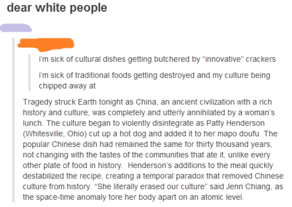 Culture Destroyed By Food Appropriation Cultural