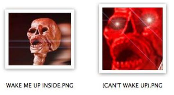 WAKE ME UP INSIDE | Skeletons | Know Your Meme