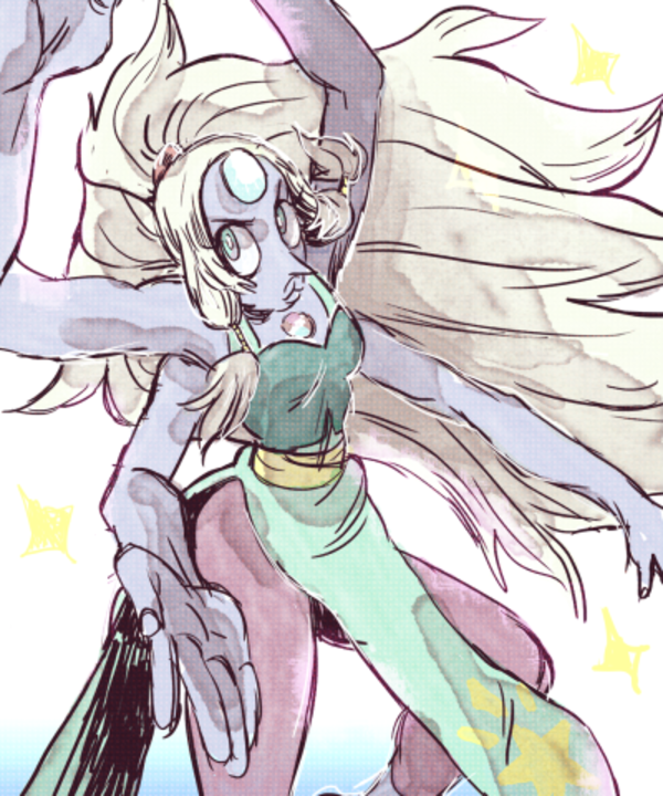 Opal by spacedrunk | Steven Universe | Know Your Meme