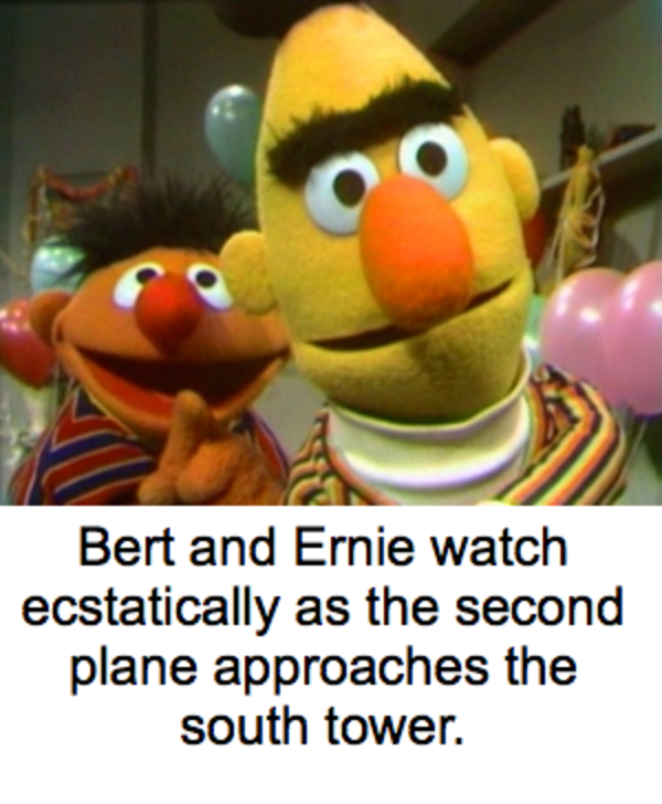 Funny Muppet Meme: 9/11 Was Caused By The Muppets