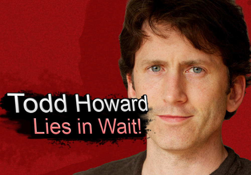 Todd Howard Lies In Wait | Todd Howard | Know Your Meme