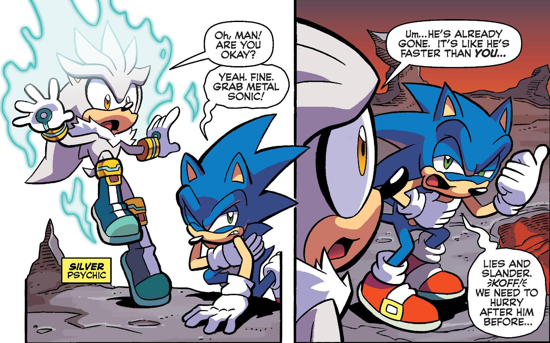 Lies And Slander Archie Sonic Comics Know Your Meme