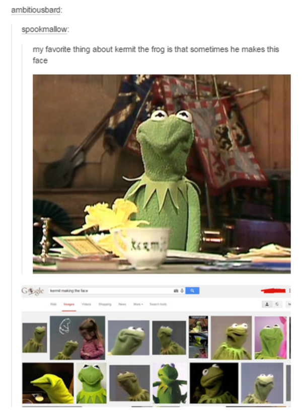 Kermit The Frog Meme On The Couch