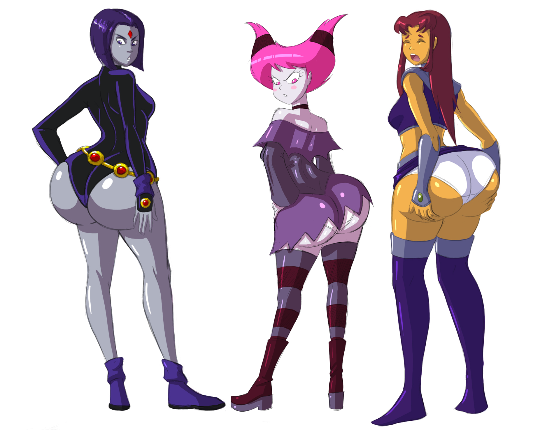 foto de Toon Tushies (cropped) by Axel Rosered Teen Titans