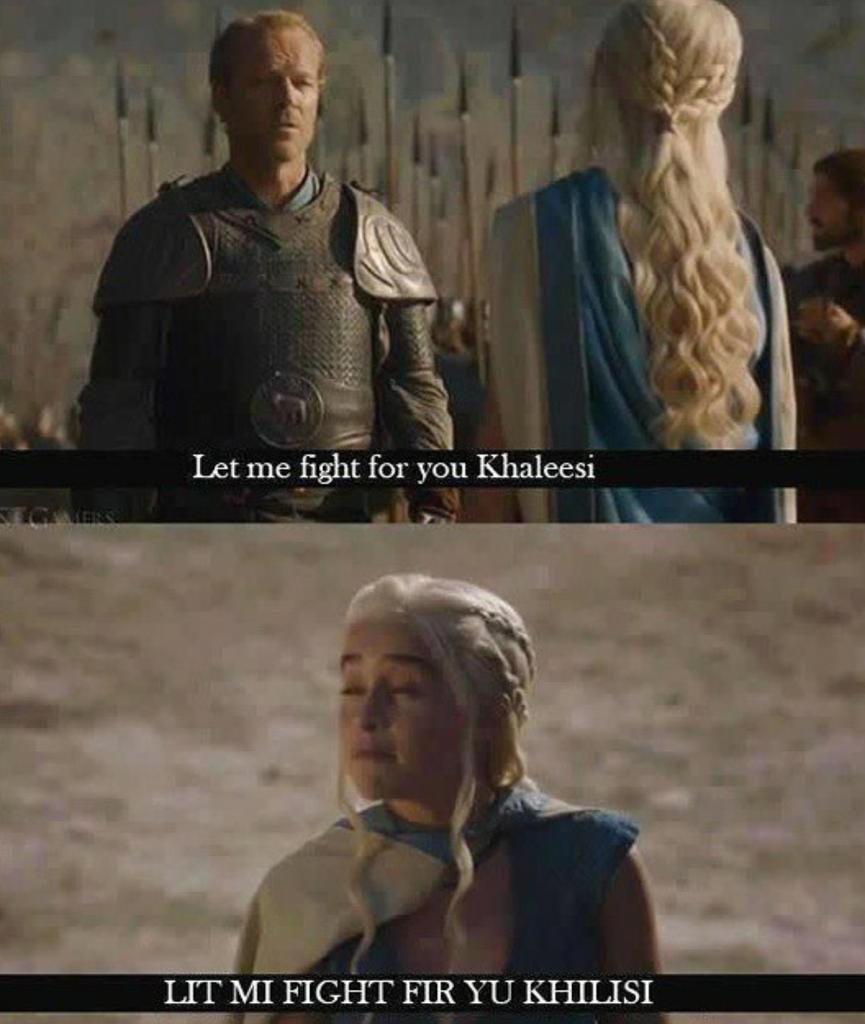 let me fight for you khaleesi game of thrones know