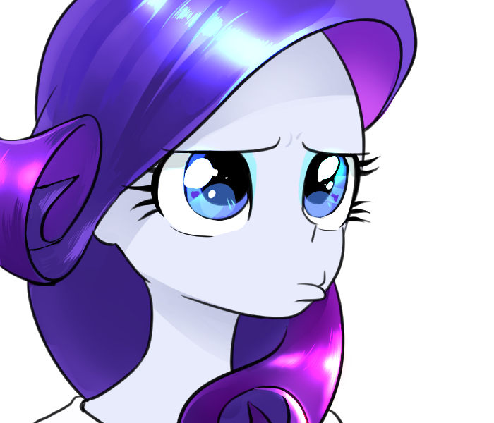 rarity pout by quizia my little pony equestria girls
