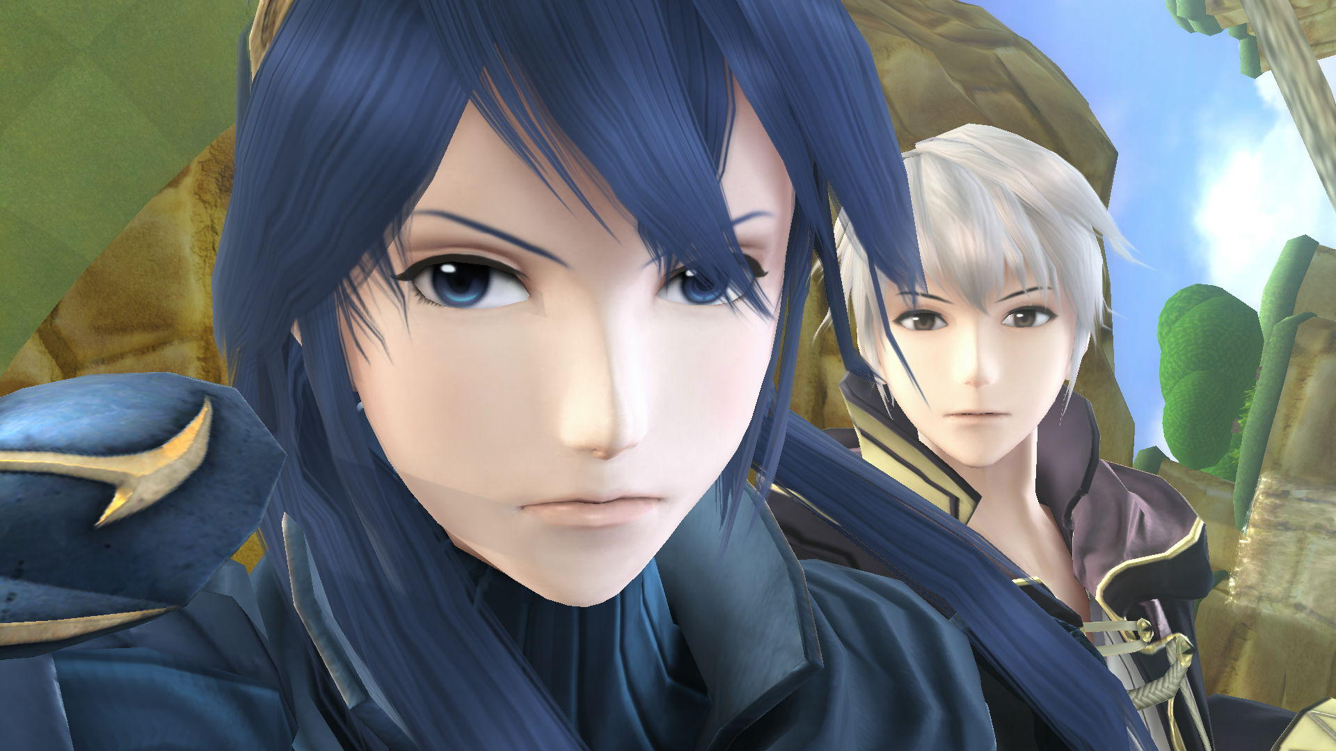Lucina and Robin selfie | Super Smash Brothers | Know Your ...