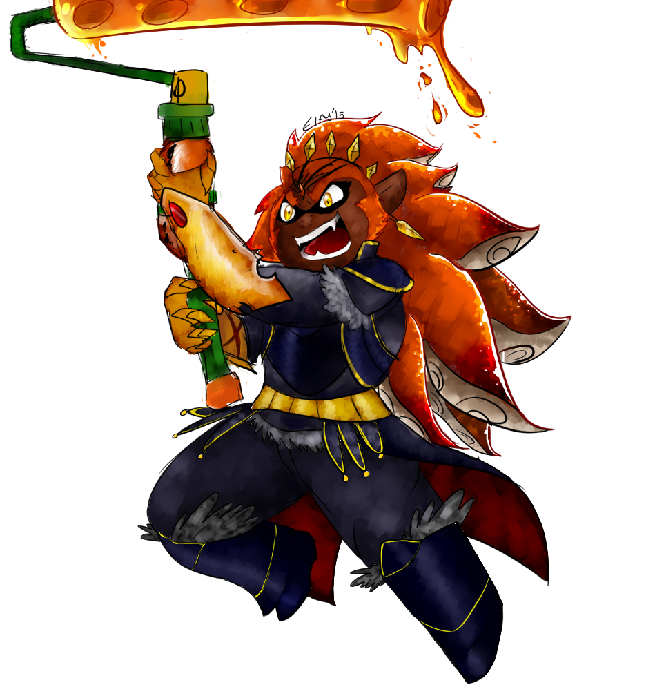 Splatoon Ganondorf | Splatoon | Know Your Meme Uberhaxornova Fan Art