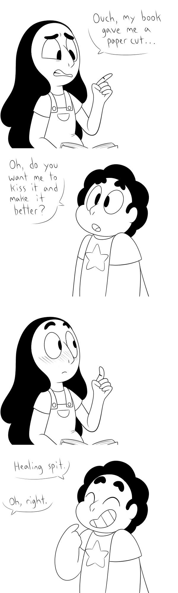 Steven, do you even realize...? | Steven Universe | Know ... Uberhaxornova Face