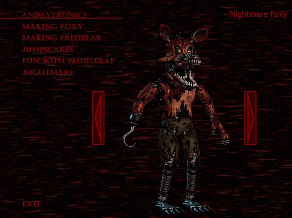 Nightmare Foxy | Five Nights at Freddy's | Know Your Meme Uberhaxornova Face