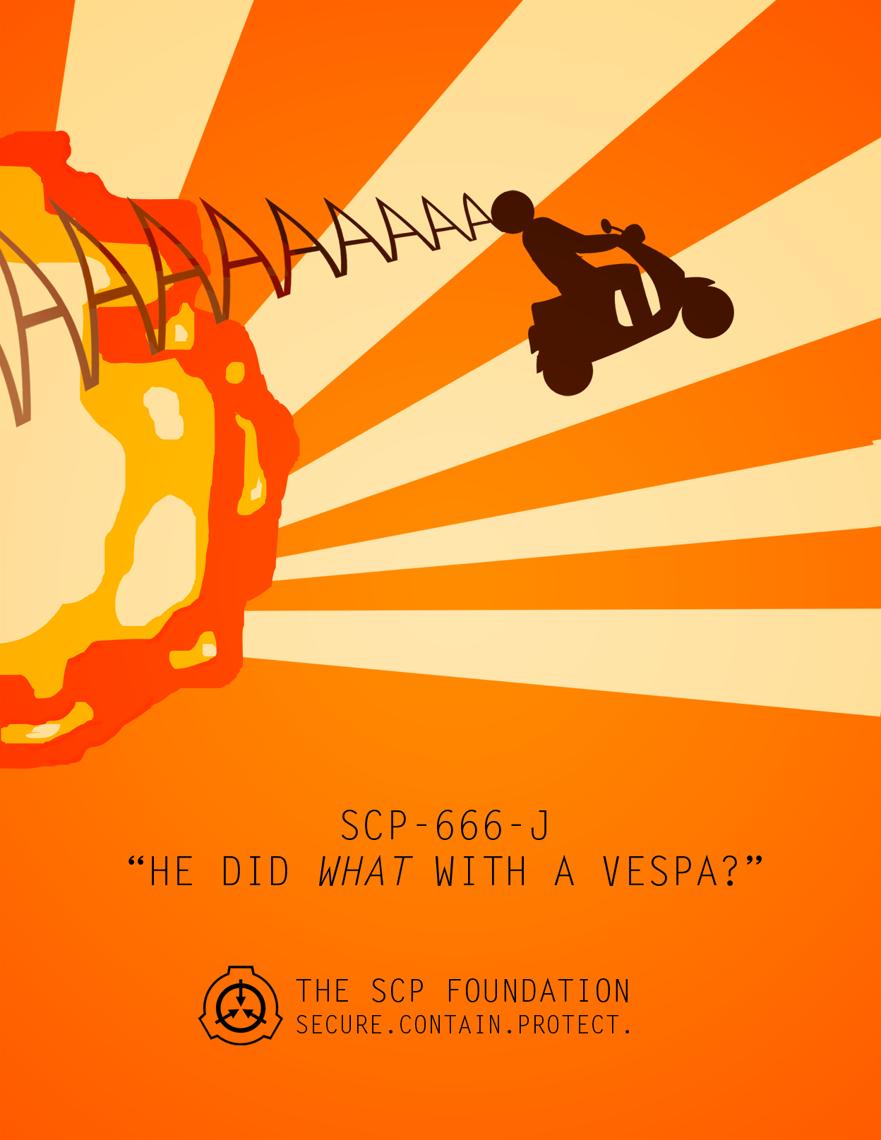 Scp 666 J Dr Gerald S Driving Skills Poster By Dr Kens