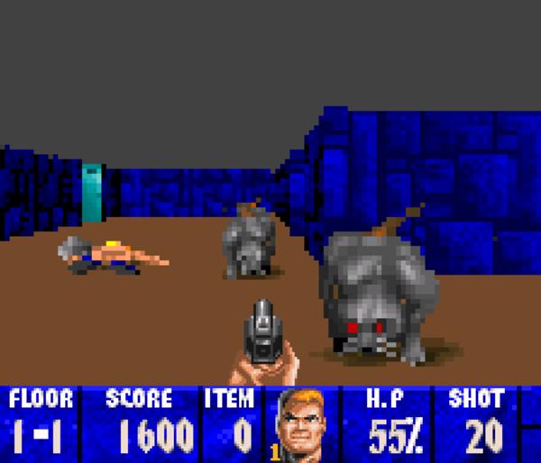Censored Wolfenstein 3D