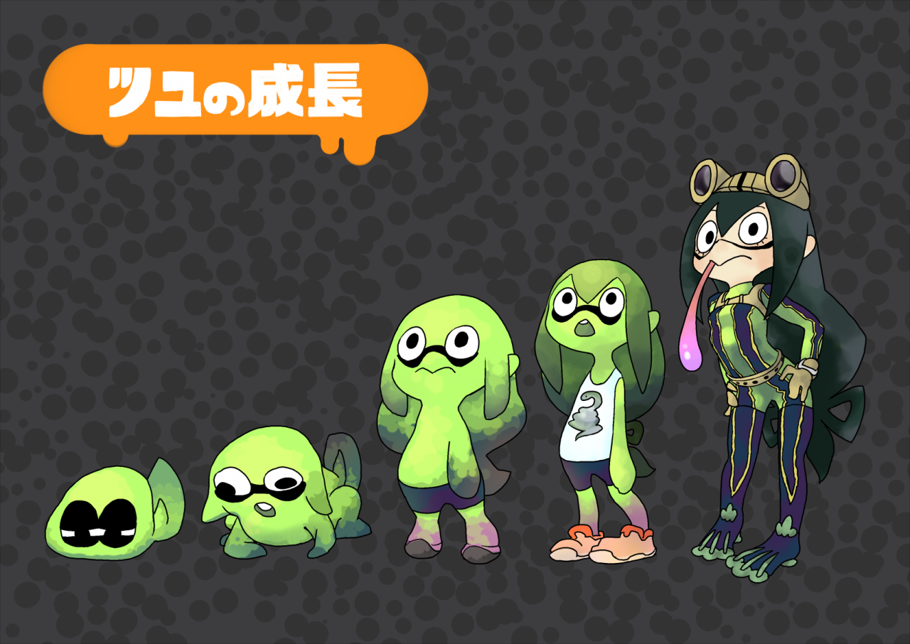 Also Avalible In Frog Splatoon Know Your Meme