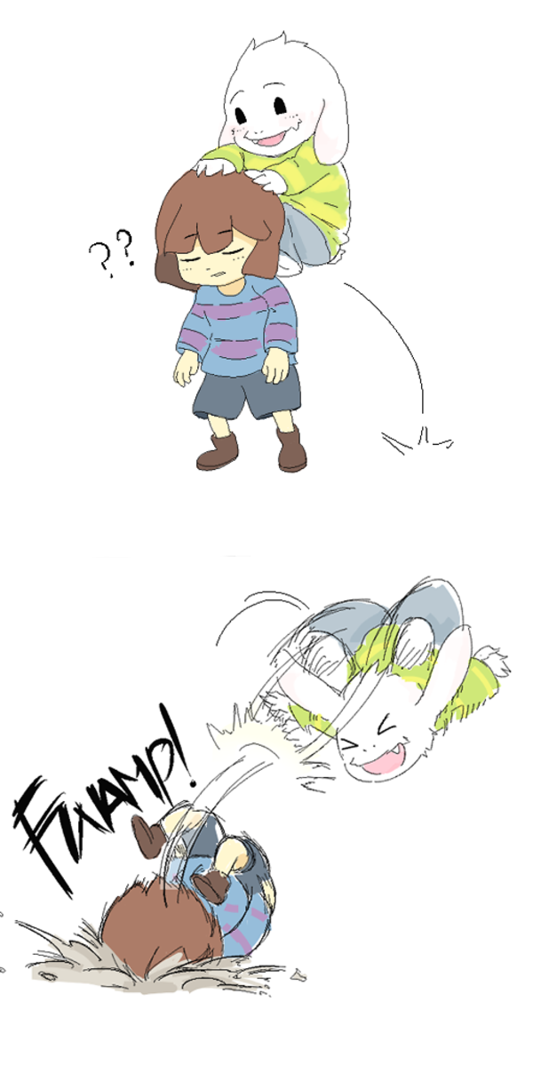 Asriel Quot Plays Quot With His Quot Friend Quot Undertale Know Your Meme