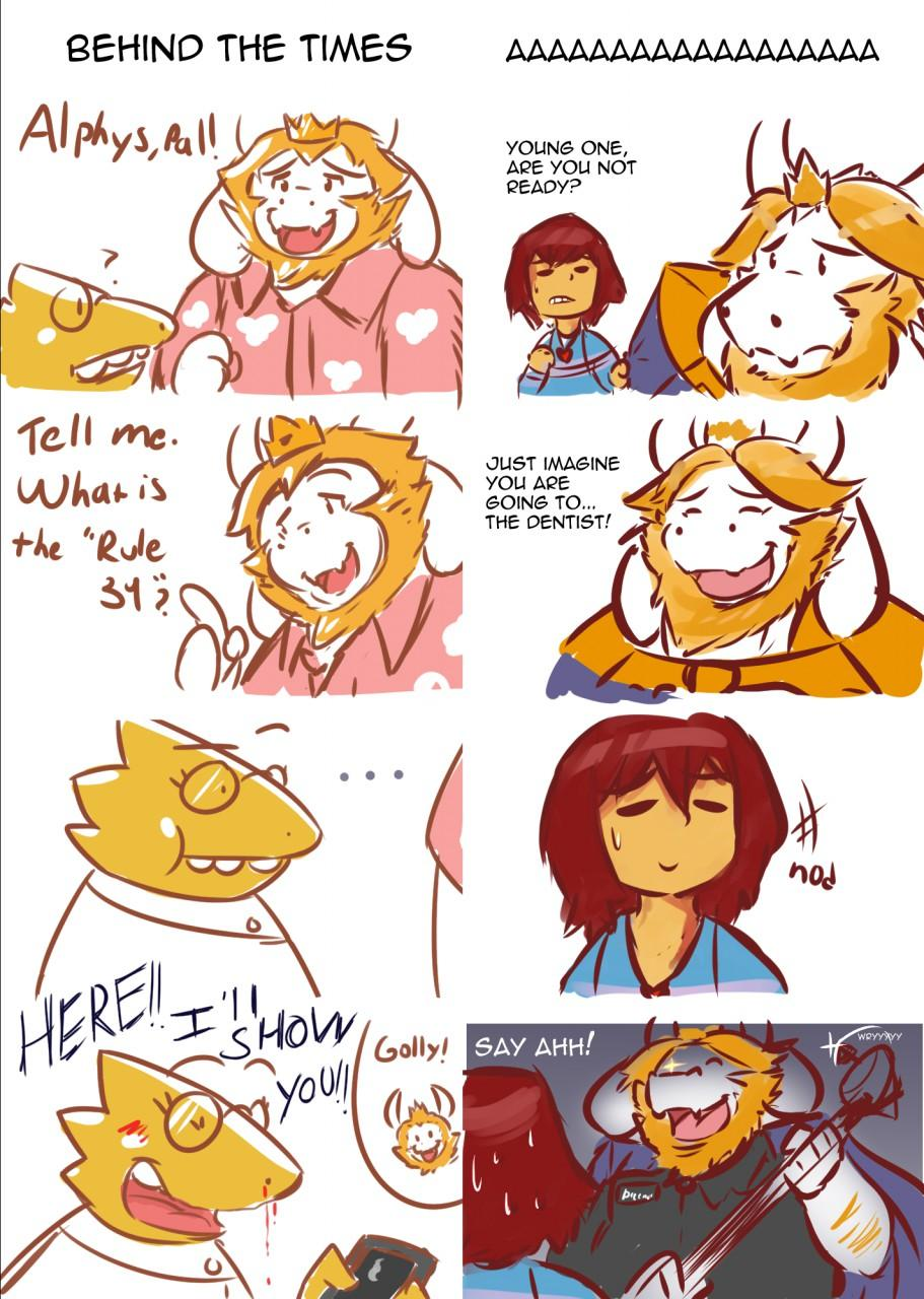 Two Undertale Comics For The Price Of One Undertale
