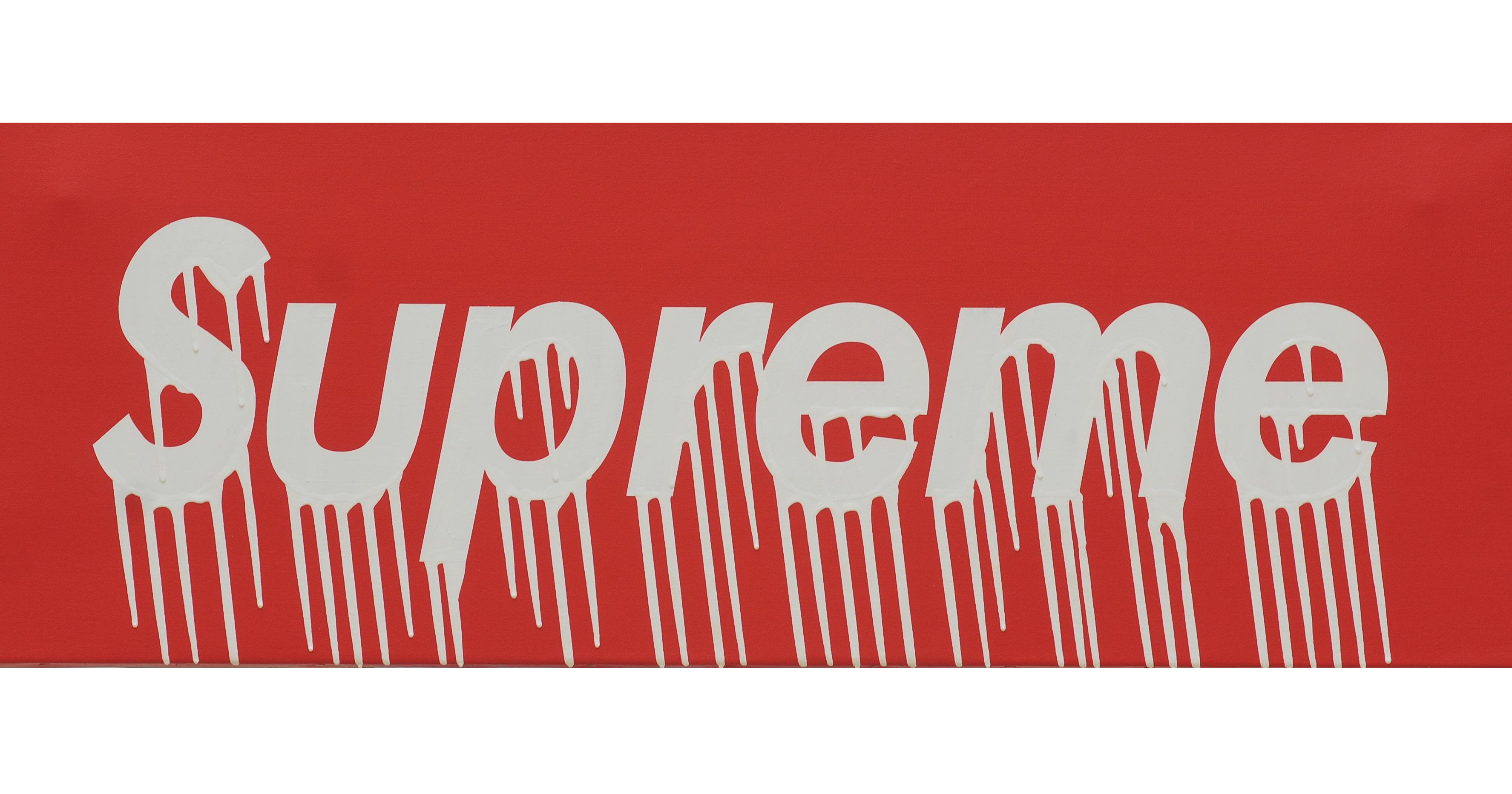 Supreme Logo Drippy | Supreme | Know Your Meme