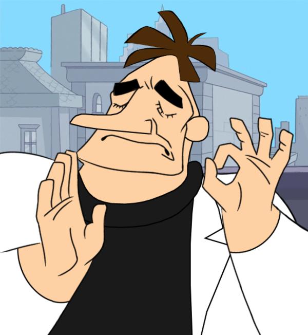 Doofenshmirtz Poorly-Drawn Pacha Edit! ♫ | Pacha Edits ...