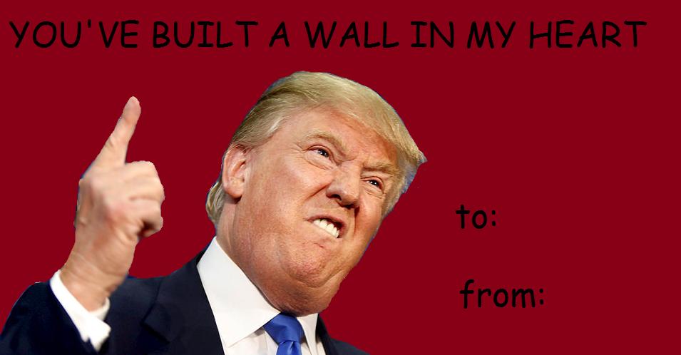 Donald Trump Valentines Day Ecards – Valentine Cards Meme
