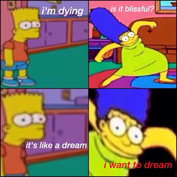 I WANT TO DREAM | Marge Krumping | Know Your Meme