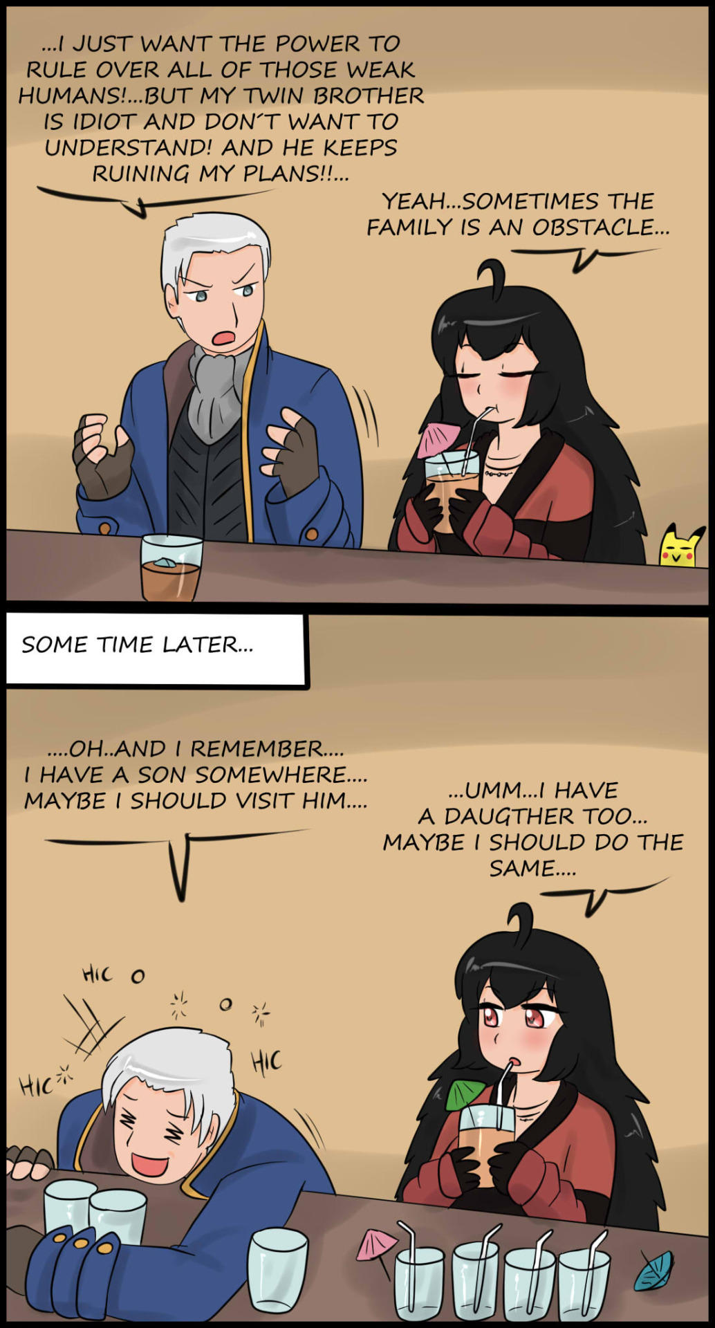 Raven and Vergil really have a lot in common   RWBY   Know ...