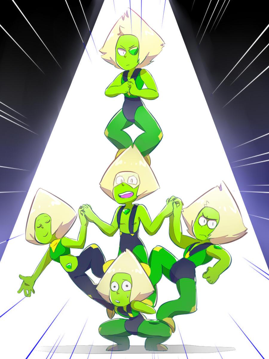 Steven universe peridot and the peridots