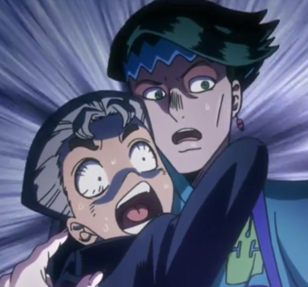 The Contrast Between Koichi And Rohan's Face Is Amazing