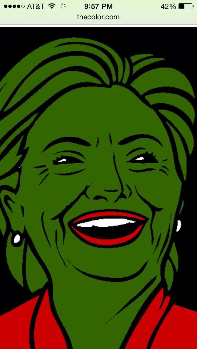 Pepe Clinton Hillary Clinton Know Your Meme